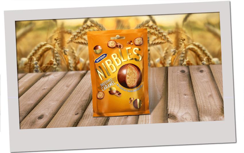 McVitie's Digestive Nibbles Caramel 120g