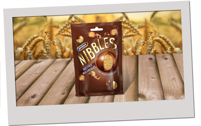 McVitie's Digestive Nibbles Milk Chocolate 120g