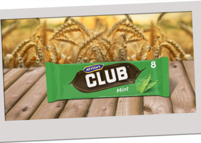 McVitie's Club Mint 176g