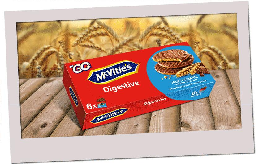 McVitie's Digestive ToGo Milk Chocolate 6x33,3g