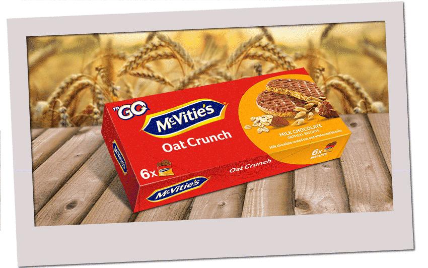 McVitie's OatCrunch ToGo 6×37,5g