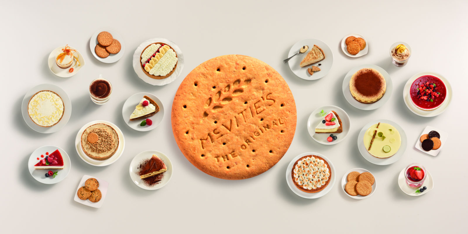 What cheesecake would that be, without McVitie's Original Digestive?